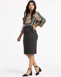 Magicsuit - Shape & Sculpt Ponte Pencil Skirt - Lyst