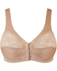 Simply Be - Glamorise Front Fastening Non Wired Blush Bra - Lyst