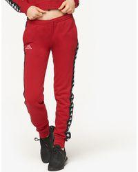 454fdca03517 Kappa - Banda Aviol Slim Fleece Pants - Lyst