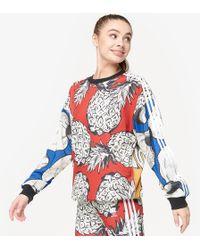 34dcb70534858 adidas Originals Farm Jardin Agharta T-shirt in Black - Lyst