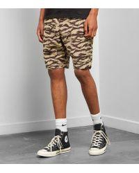 Nike - Short AOP Swoosh - Lyst