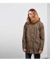 Fred Perry - Fishtail Parka - Lyst