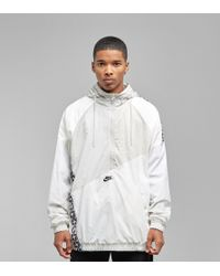 Nike - Taped Woven Anorak Jacket - Lyst