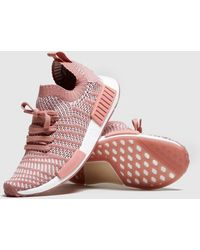 18556530a Lyst - Adidas Originals Nmd r1 Stlt Primeknit Women s in Natural
