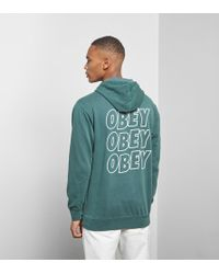 Obey - Jumble Hoody - Lyst