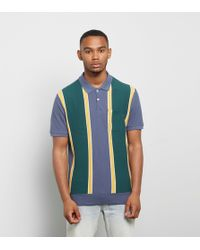 Obey - Watermark Polo Shirt - Lyst