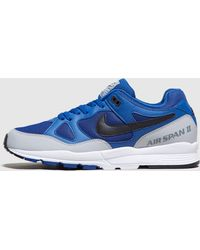 0ed70d84281 Lyst - Nike Air Zoom Span Running Shoes in Blue for Men