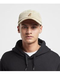Kangol Cord Baseball Cap - Brown