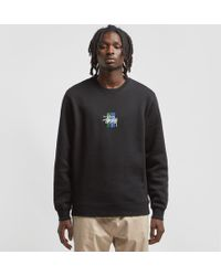 Stussy - 2 Bar Stock Crewneck Sweatshirt - Lyst
