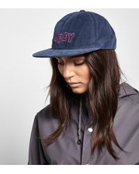 Obey - Outline Cord 6 Panel Cap - Lyst