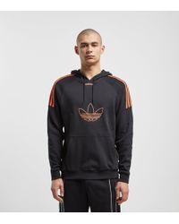 adidas Originals Flock Hoodie - Black