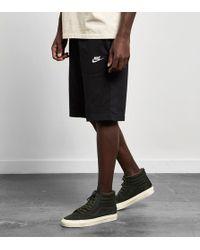 Nike - Club Shorts - Lyst