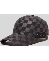 Huf - Blackout Curved Visor Hat - Lyst