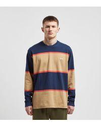 Stussy - Jeromy Stripe Long Sleeve Crewneck T-shirt - Lyst