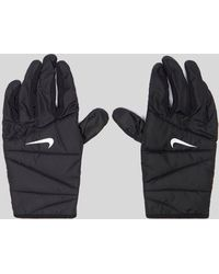 Nike - Quilted Running Gloves - Lyst