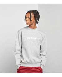 Carhartt WIP - Script Sweatshirt - Lyst