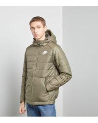 Nike - Bubble Padded Jacket - Lyst