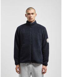 Fred Perry - Borg Full Zip Fleece Jacket - Lyst