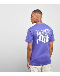 Brotherhood - Iconic Stacked T-shirt - Lyst