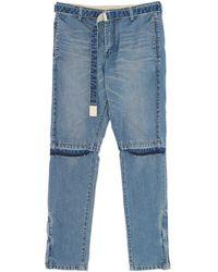 Sacai - Denim Trousers - Lyst