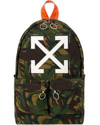 Off-White c/o Virgil Abloh - Camou Backpack - Lyst