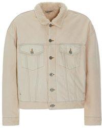 Yeezy - Classic Sherpa Jeans Jacket - Lyst