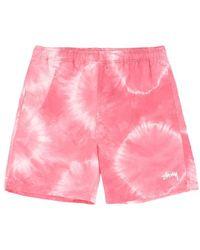 Stussy - Tie Dye Swim Shorts - Lyst