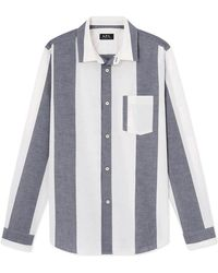 A.P.C. - Chemise Johnny Shirt - Lyst