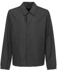 6cc3f947b adidas Originals Stadium Jacket in Black for Men - Lyst