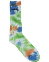 Stussy - Leary Marl Socks - Lyst