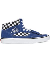 804381d060 Vans Checkerboard Mountain Edition Sneakers in Black for Men - Lyst