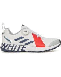 1578e22b2298 adidas Originals - White Mountaineering Terrex Two Boa Sneakers - Lyst