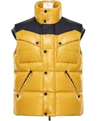 91d0b8df7b845 Lyst - Moncler Grenoble  camurac  Quilted Down Jacket Blue in Blue ...