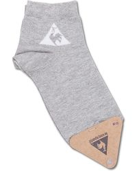 Le Coq Sportif - Wmns Glitter Quarter Socks - Lyst