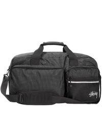 Stussy - Ripstop Nylon Duffle Bag - Lyst