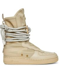 Nike - Wmns Special Field Air Force 1 Hi Boots - Lyst