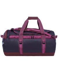 The North Face - Base Camp Duffle M Bag Purple - Lyst