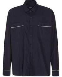 Fear Of God - Piped Oversized Shirt - Lyst