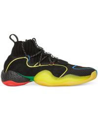 63563889a Lyst - Adidas Originals Pharrell Williams Tennis Hu Monochrome Sneaker