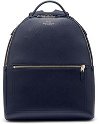 Smythson - Panama Small Backpack - Lyst