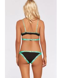 L*Space - Pools & Palms Charlie Bottom In Black - Lyst