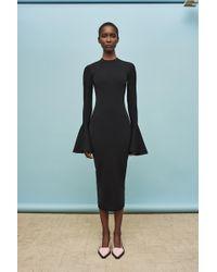Solace London - Corvo Dress Black - Lyst
