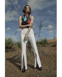Solace London - Morena Trouser Cream - Lyst