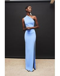 Solace London - Averie Dress Bluebell - Lyst