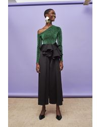 Solace London - Una Top Green - Lyst