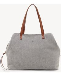 Sole Society - Millie Printed Oversize Tote - Lyst