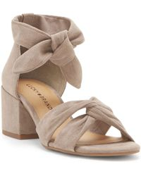 Lucky Brand - Xaylah Knotted Sandal - Lyst