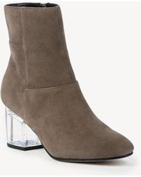 Sole Society - Dinah Ankle Bootie - Lyst
