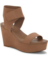 52112da7bbf Lyst - BCBGeneration Gooney Platform Sandals in Brown