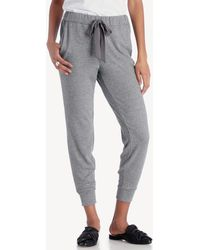 1.STATE - Brushed Jersey Jogger W/ Satin Tie - Lyst